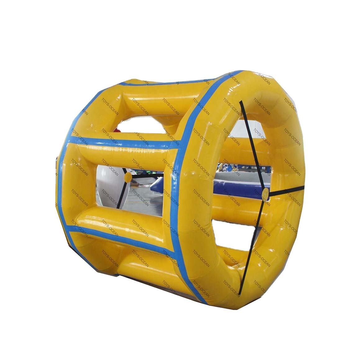 Rullo Ruota di Acqua Colorata Che Giocano Divertente Gonfiabile per Piscina/Lago Gonfiabili Giochi D'acqua