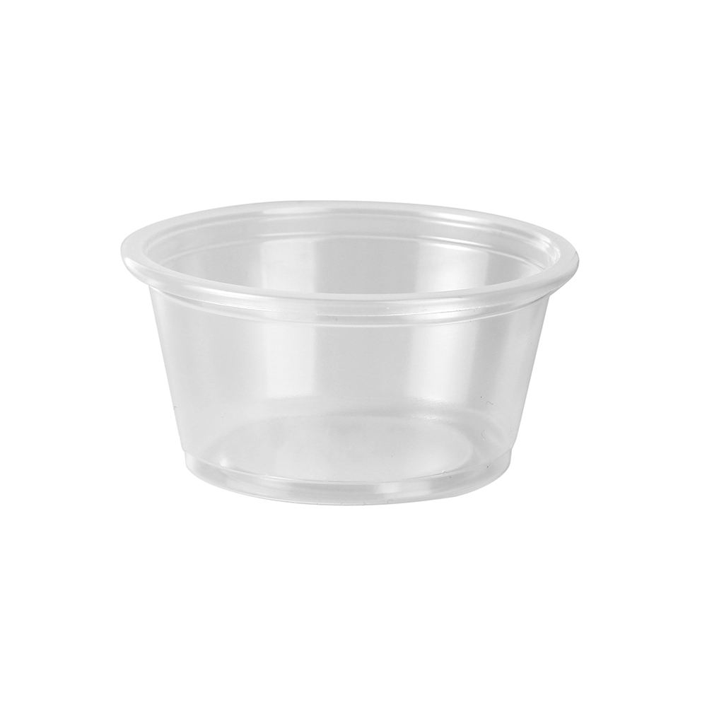 High Quality 2oz Plastic Souffle Cup Best Price Souffle Cup With Flat Lids Souffle Cup
