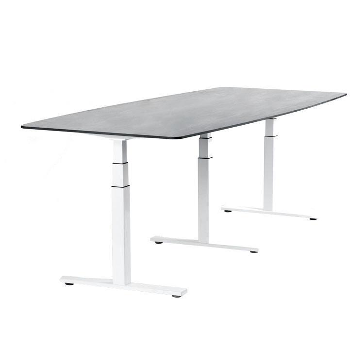 Haute Qualité En Gros électrique à angle réglable en hauteur table de réception de bureau moderne bureau secrétaire