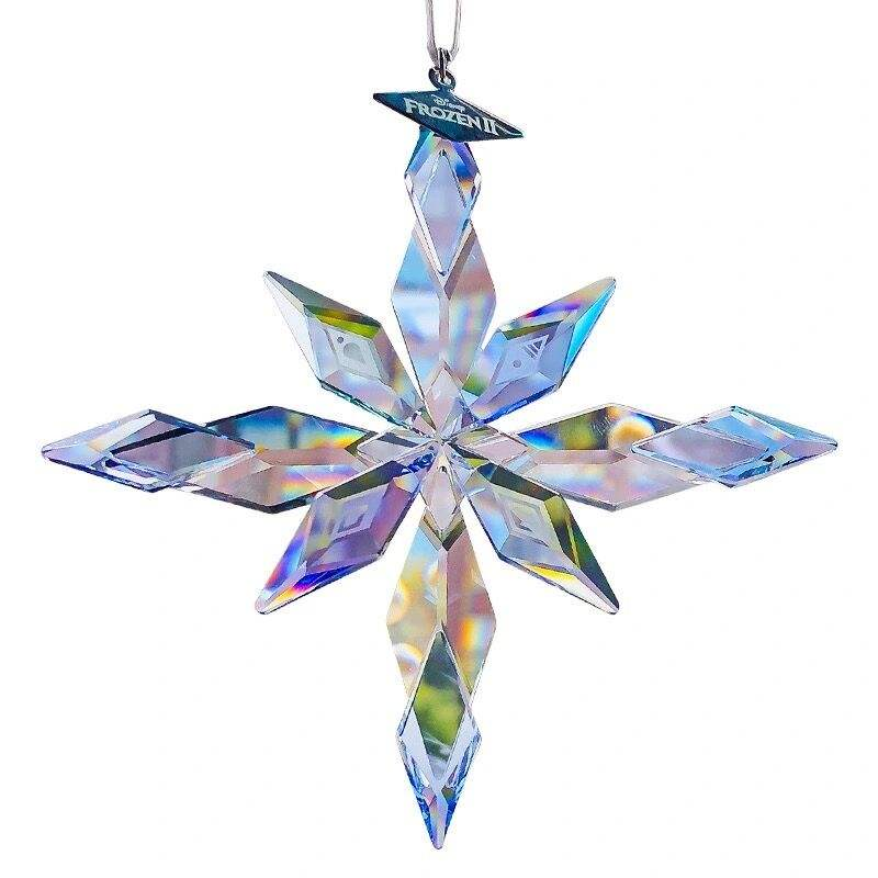 Angelic Healing Cheap Crystal Glass Snowflake crystal ornament For Christmas Gifts