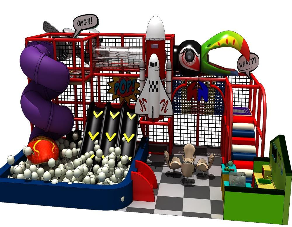 Hot Sale Mini Soft Play Children Indoor Playground With Ball Pool Fun For Kids