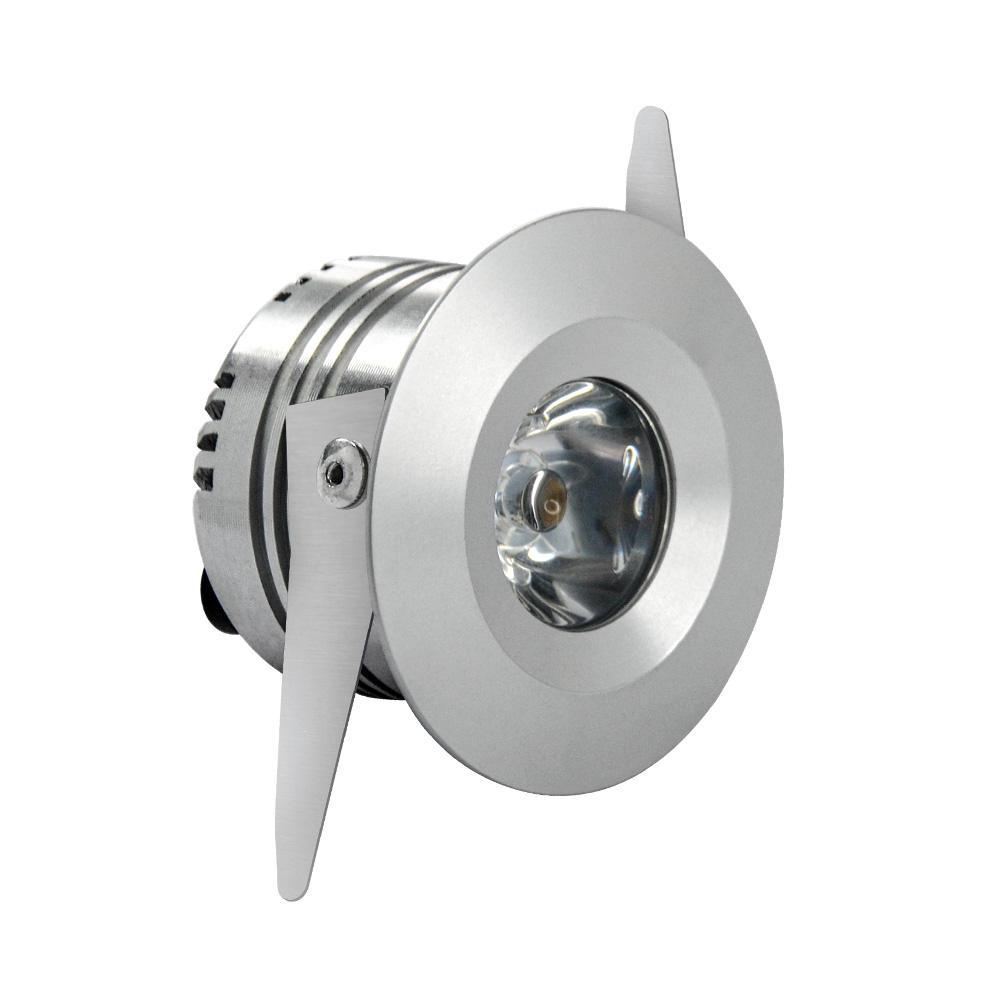 SMD LED <span class=keywords><strong>en</strong></span> aluminium <span class=keywords><strong>surface</strong></span> <span class=keywords><strong>montage</strong></span> réflecteur 3W CRI90 A MENÉ Le downlight de plafond
