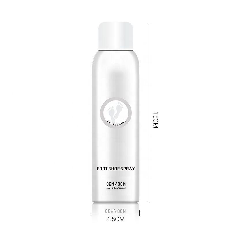 150ml Private Label Waterproof Shoe Deodorizer Spray Custom Logo Manufacturer