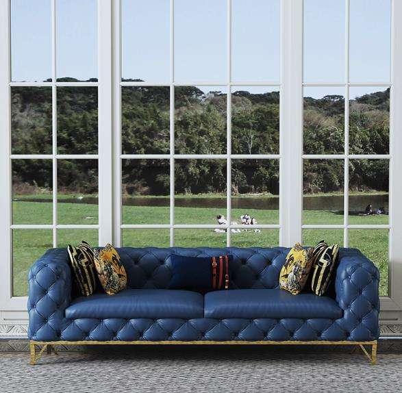 عالية الجودة العتيقة أريكة الحديثة غرفة نوم من الجلد غرفة المعيشة
