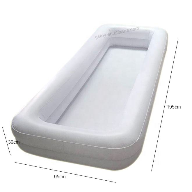 Elderly Bath In Bed Medical Inflatable Bathtub Shower System