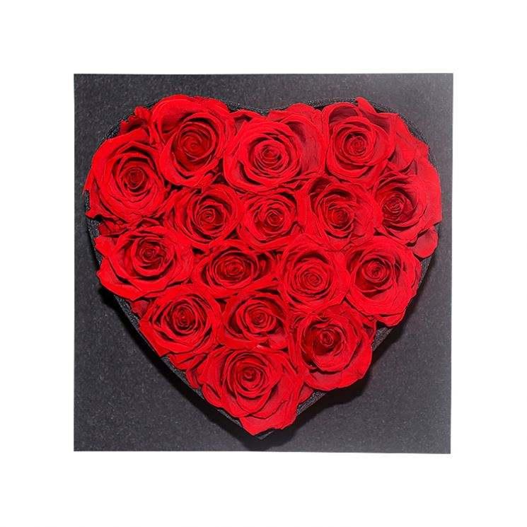 El yapımı Doğal Gül Çiçekler Kalp korunmuş Gül Yıldönümü <span class=keywords><strong>Yılbaşı</strong></span> Sevgililer Hediye