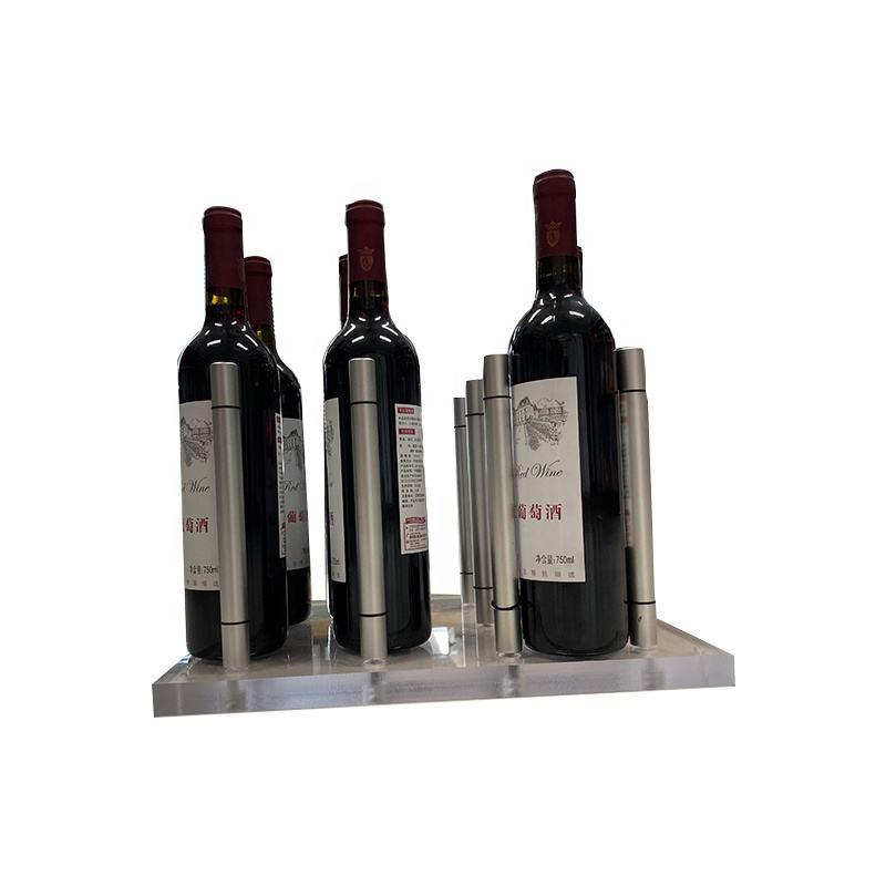 Libre de barril de vino en forma de 6 botellas de vino Rack