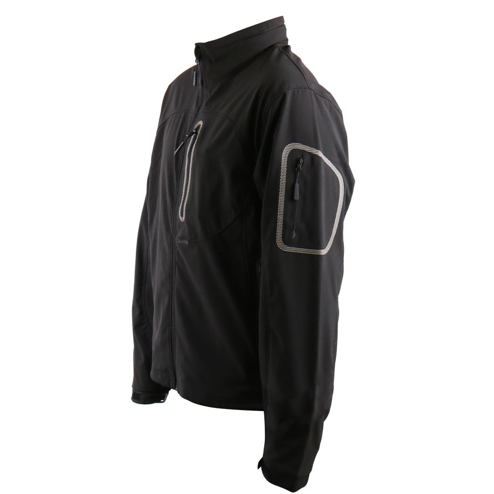 breathable outdoor softshell jacket men windbreaker jacket hooded waterproof breathable light jacket