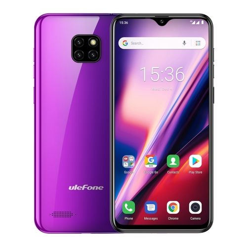 Double 11 Wholesale価格Hot販売携帯電話Ulefone Note 7T、2GB + 16GB Face ID Identification、6.1インチAndroid 10.0