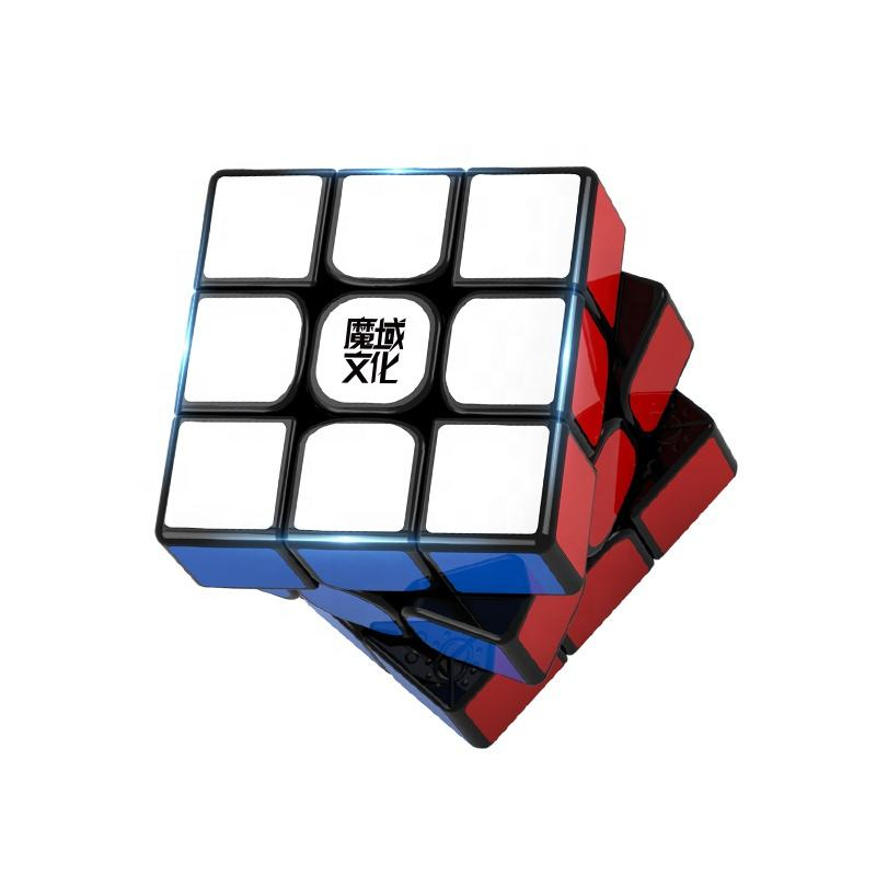 "2020 MoYu WeiLong Magic Magnetic Cube 3.47 ""WCA Record 3x3x3 Educational Toy Puzzle"