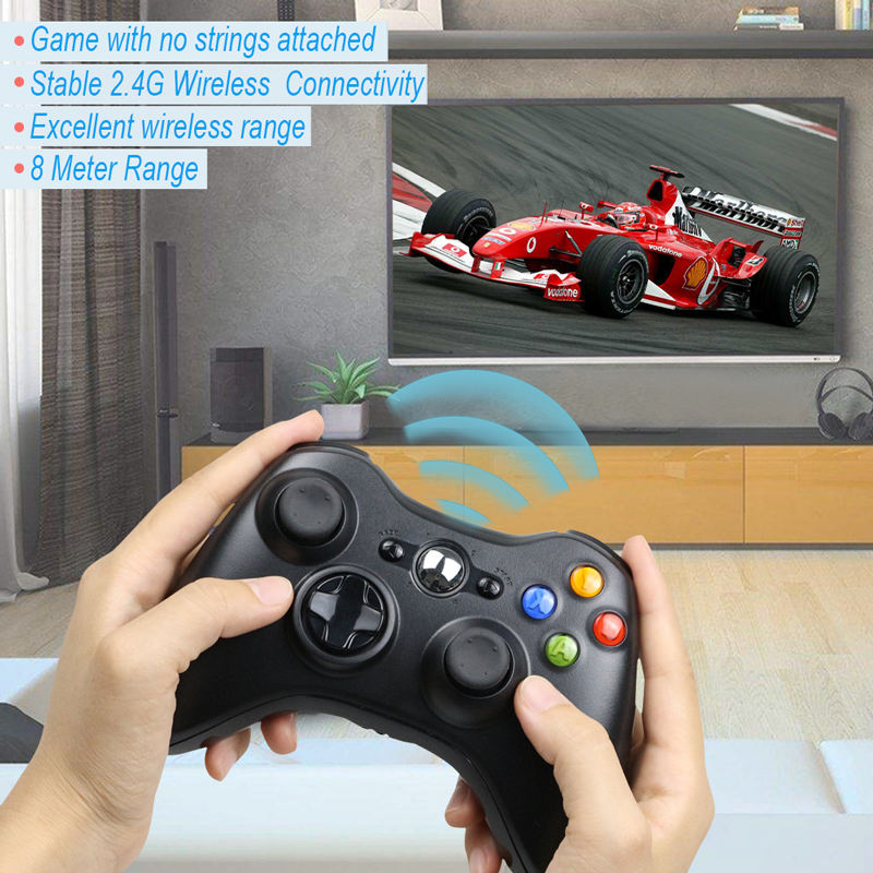 Wireless/Wired Controller Gamepad Per XBOX 360 Controle <span class=keywords><strong>Joystick</strong></span> Senza Fili