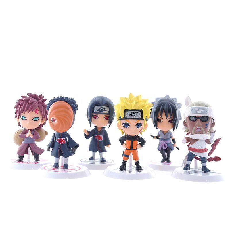 Один набор Наруто фигурка Коллекционная детская игрушка