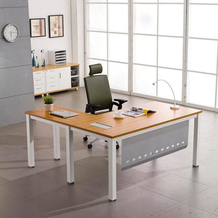Горячие продажи письменный стол офисный стол конструкции коммерческая мебель в наличии