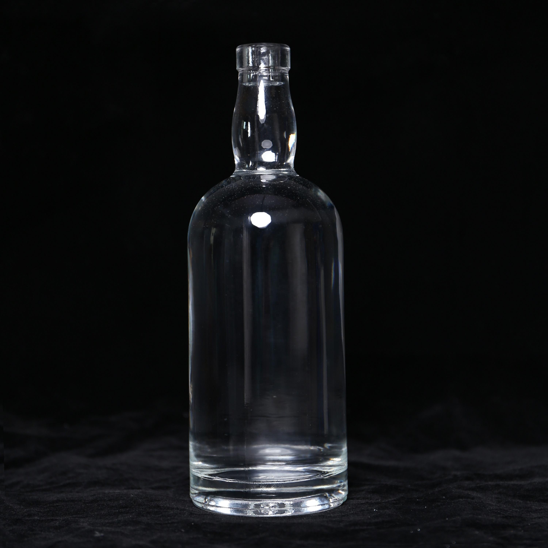 Hoson más competitivo el grabado ácido de alta calidad botellas de vino de vidrio