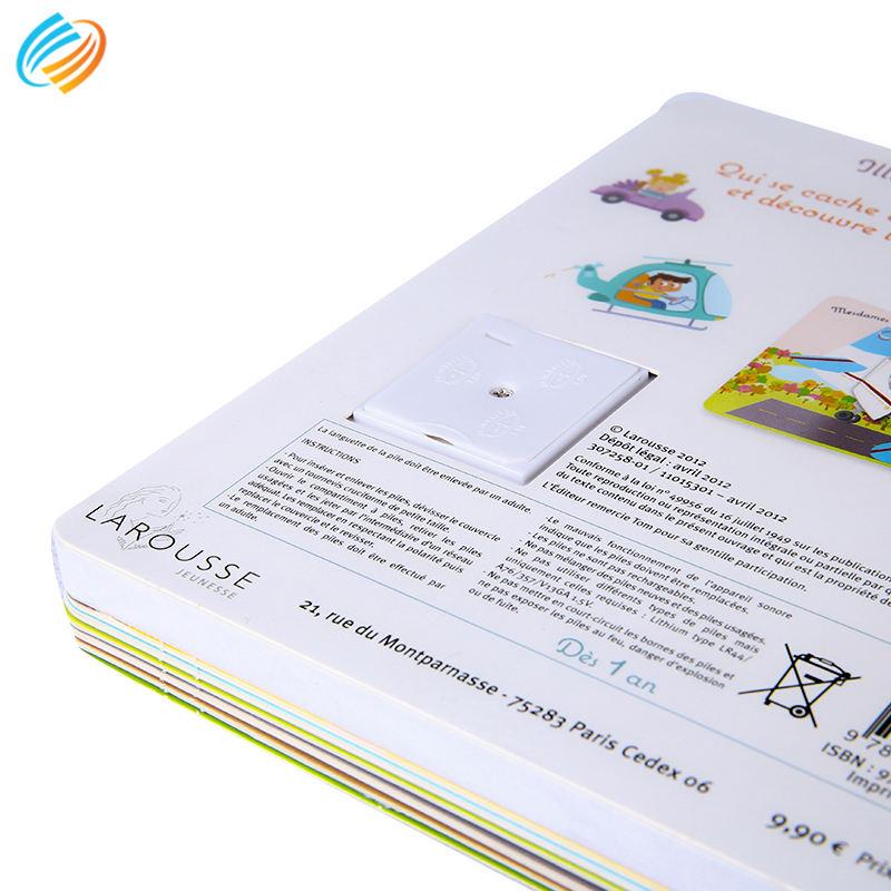 Schnelle Lieferung A4 Glänzend Hardcovercustom Hardcover Buch Gedruckt Comic Kinder <span class=keywords><strong>Geschichte</strong></span> Hard Bord Buch Druck Mit Sound