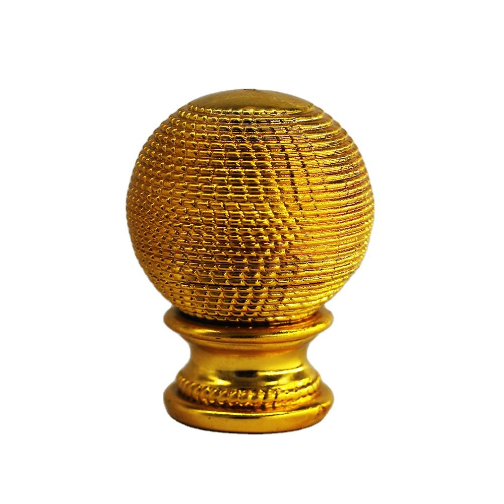 2020 NEW Factory price 28mm Diameter Decorative Round Shaped Plastic fancy curtain rod finial