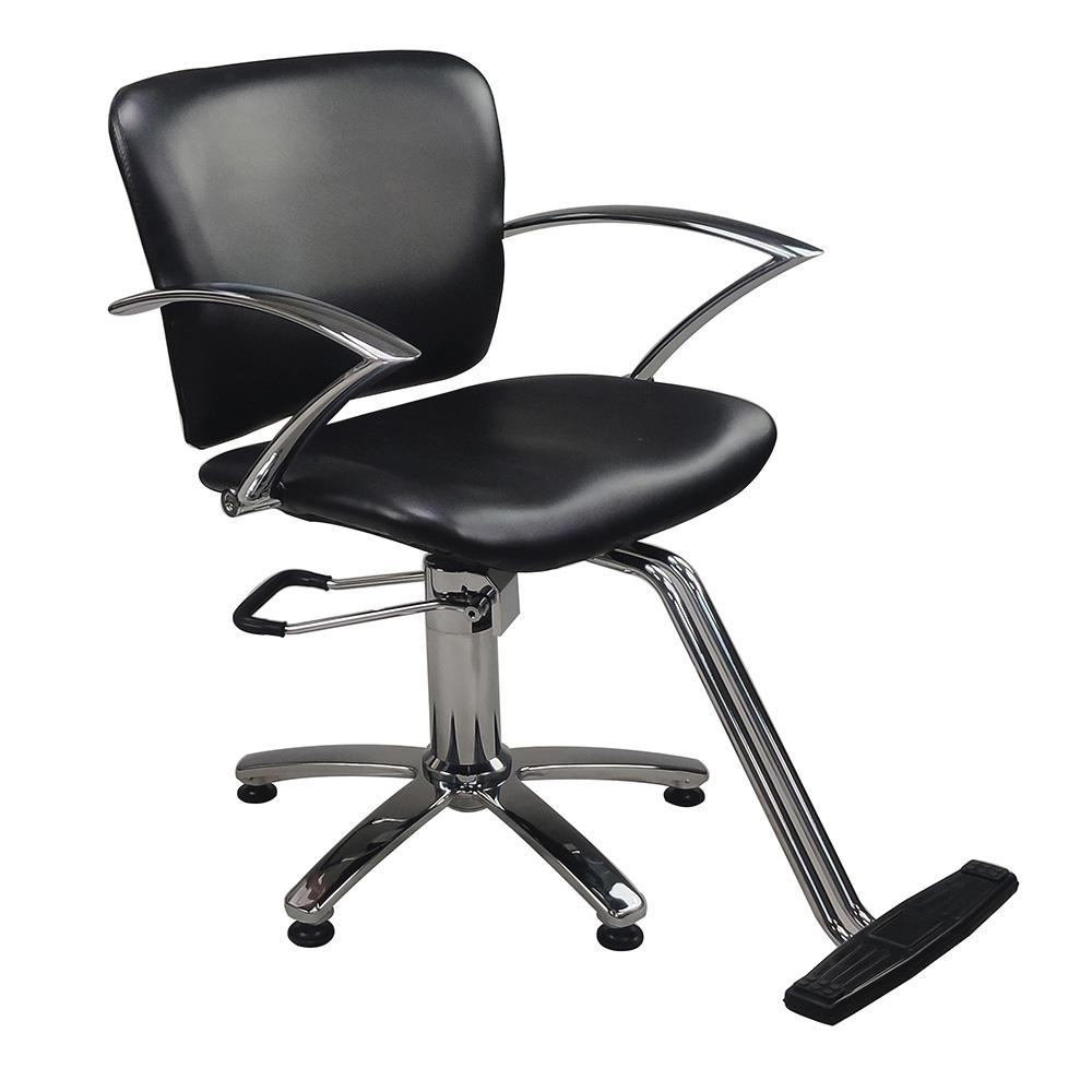 DTY de belleza de alta calidad material de muebles de salón sillón de barbero hidráulico pelo reclinable peluquería Estilo silla