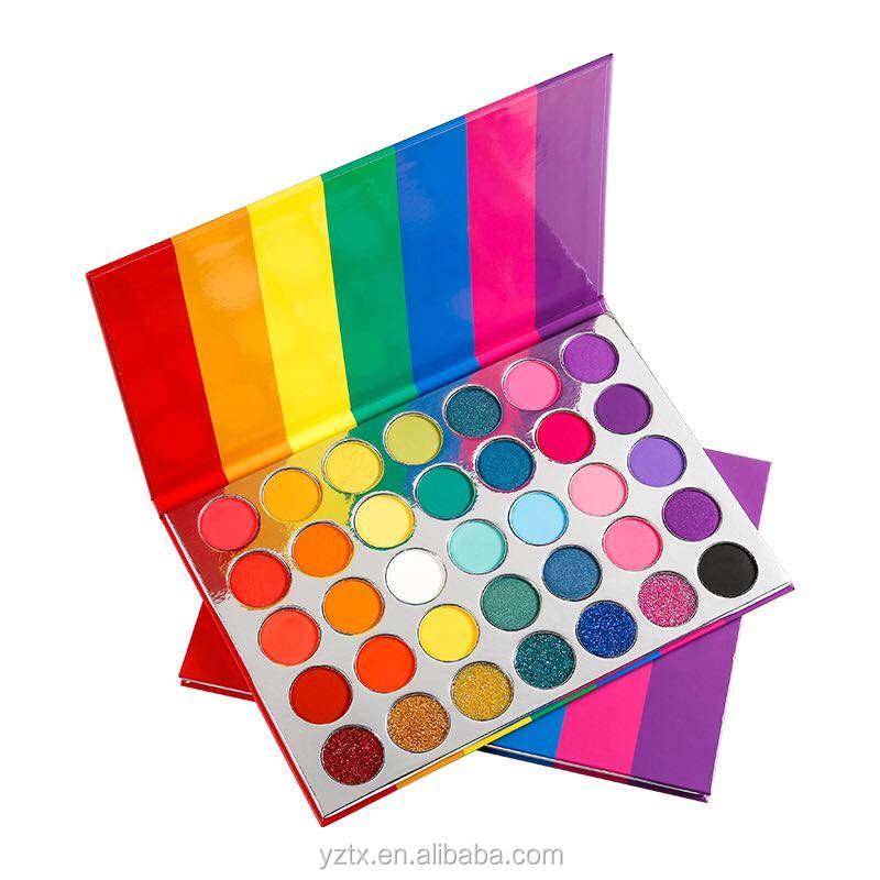 Недавно снабженный продукт 35 цветов Цвет Тени для век матовый наличии тени для век Косметика Блеск