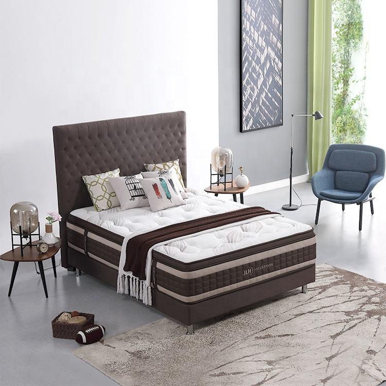 padrão americano de arrefecimento da espuma da memória rainha king size do hotel quarto com cama de colchão de mola