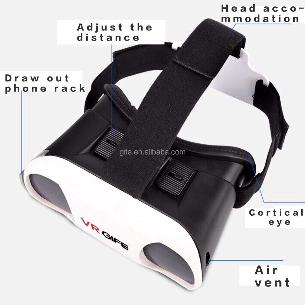 Cabeça de <span class=keywords><strong>óculos</strong></span> 3D <span class=keywords><strong>VR</strong></span> com telefone de cabeça