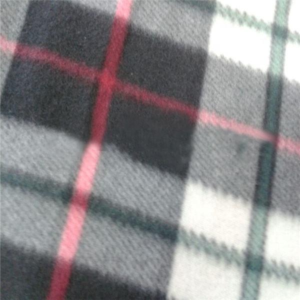 من المألوف رخيصة البوليستر القطبية ثوب من نسيج محبوك الصوف لفصل الشتاء وشاح والقفازات