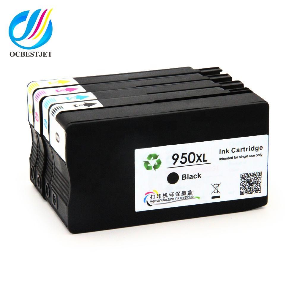Ocbestjet para HP950 951 950XL 951XL de inyección de tinta compatibles con cartucho de tinta para HP Officejet Pro 8100 impresor