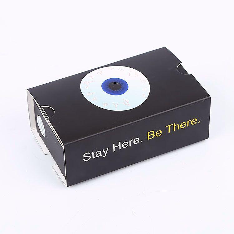 2020 Google Karton Branded <span class=keywords><strong>3D</strong></span> Goggles Günstige Virtuelle Realität Lösungen Karton Viewer Reader