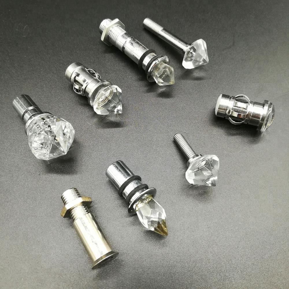 Волоконно-оптический потолочное освещение с украшением в виде кристаллов концевой фитинг