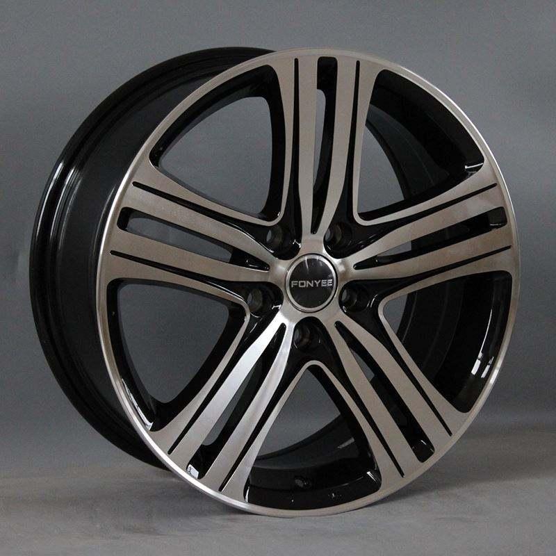 F50281 17 인치 합금 바퀴 자동차 고품질 자동차 합금 바퀴