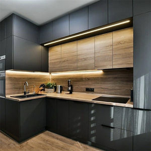Durable And Elegant Frosted Glass Kitchen Cabinet Alibaba Com