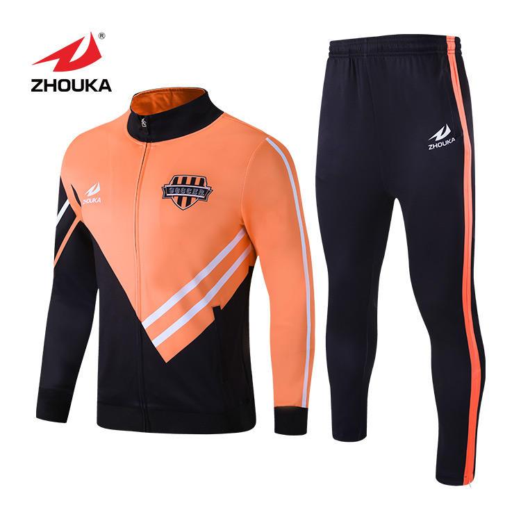 Tute abbigliamento maschile personalizzato velour pista velocità freddo mens tute di colore blocco tuta usura di ginnastica tuta