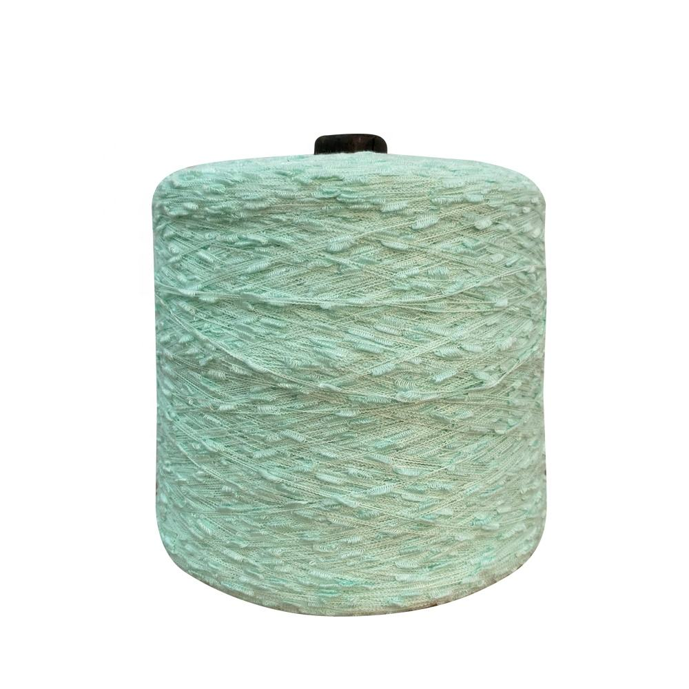 70% acrylic 30% nylon textile color cotton crocheting knitting melange blended wool dyed fancy cone weaving ladder yarn