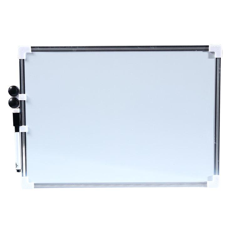Venta caliente magnética pizarra tablero blanco seco épocas de borde de acero de marco blanco junta para escolares y de oficina