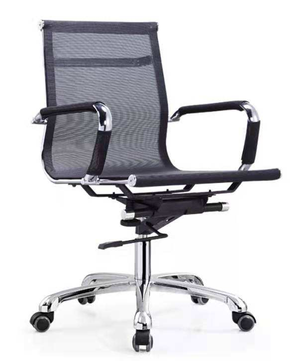 New hot-selling office special chair mid-waist ergonomic support mesh computer chair in stock