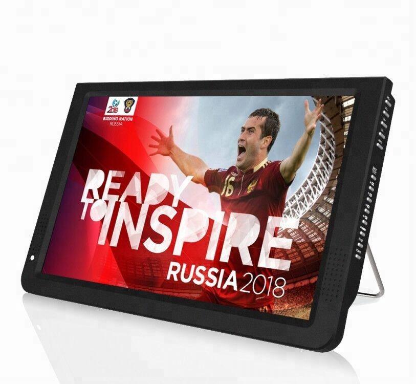 Nuovo arrivo TV portatile 11.6 12 pollici LED Digital Portable TV LCD con <span class=keywords><strong>ATSC</strong></span>/DVBT/DVBT2/ISDB-T e Analogico per <span class=keywords><strong>Auto</strong></span>, campeggio