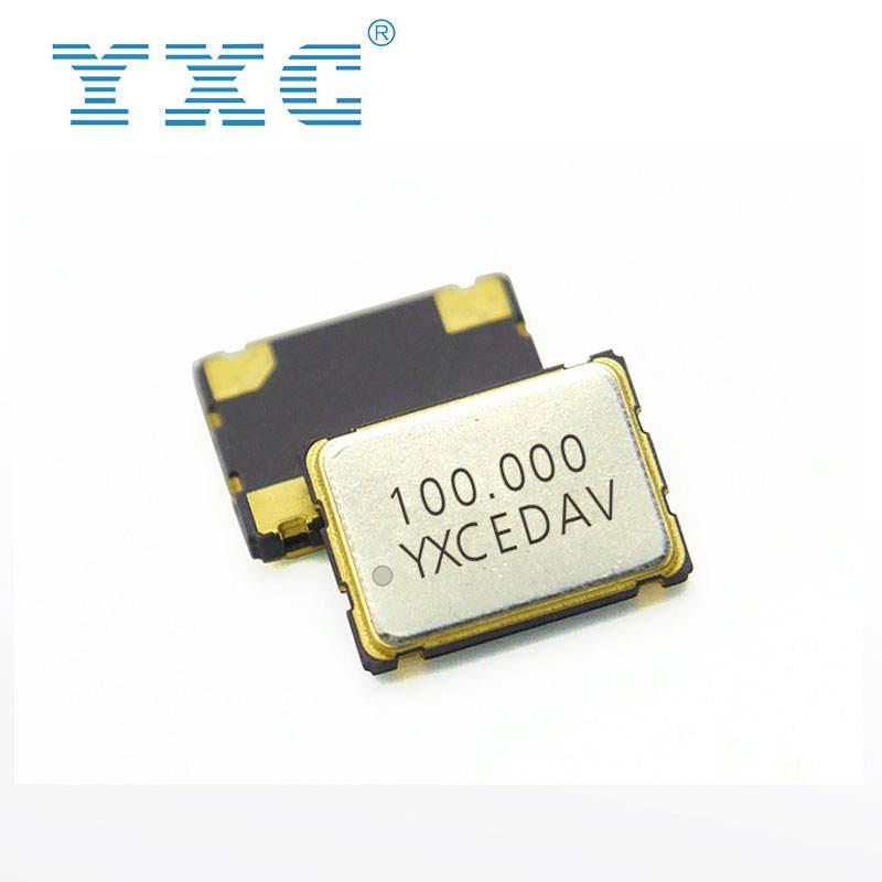 YXC 7050 SMD 3.3V 100 MHz 수정 발진기 100 MHz