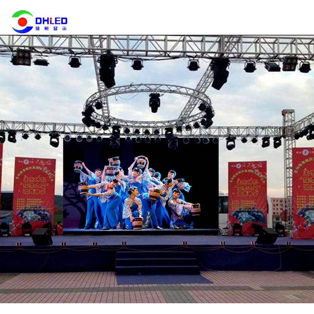 Display A LED Cina P3.91 <span class=keywords><strong>Backstage</strong></span> <span class=keywords><strong>Schermo</strong></span> A LED Con Curvo Affitto Serratura Esterna di Colore Completo SMD P3.91mm Da Parete