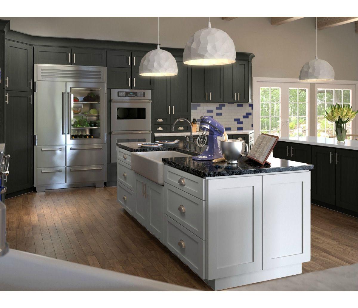 Top quality real cereja armário de cozinha porta de madeira pintada de cor fixa forma personalizada