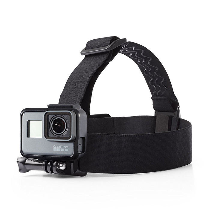 Elastic Adjustable Head Strap Three Rubber Headbands Sports Camera Headband Sports Camera Accessories For Gopro