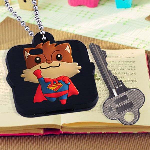Высший сорт мода мультфильм силиконовый чехол автомобиль ключ для mercedes-benz