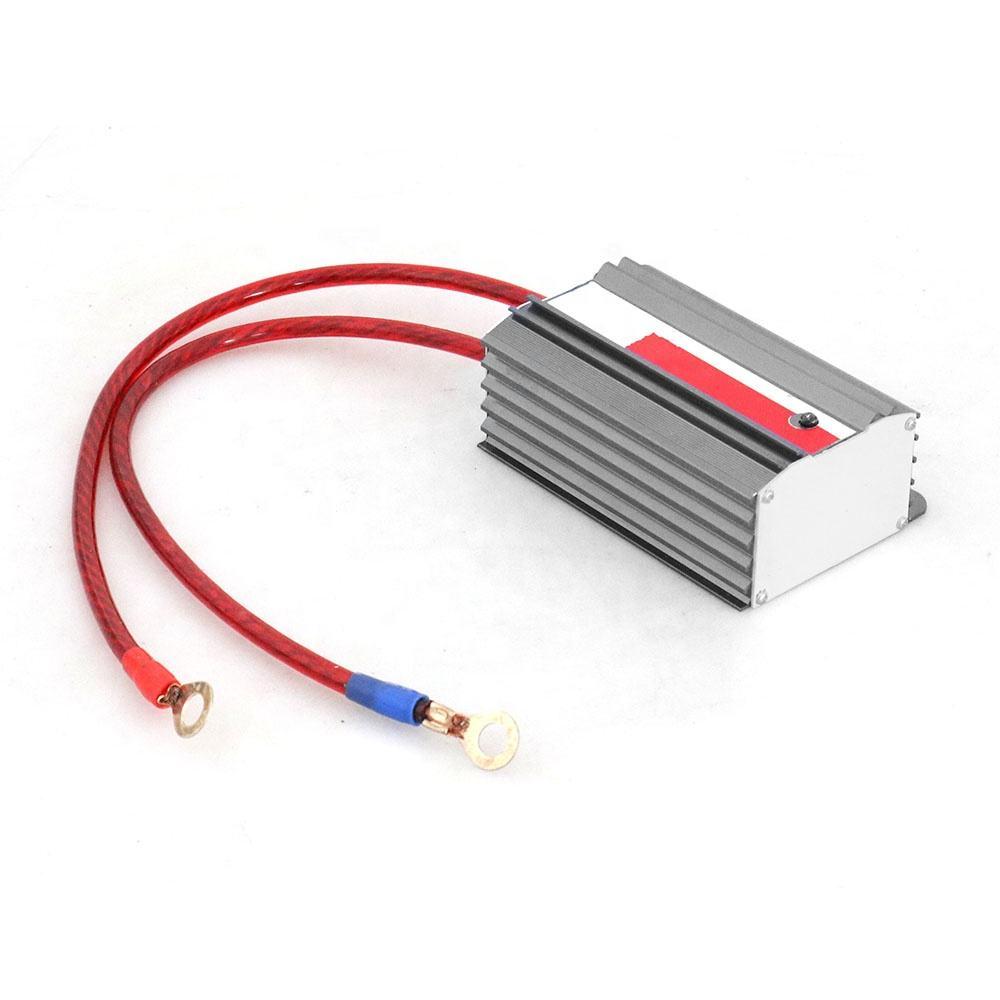 Универсальная автомобильная хромированная батарея Вольт стабилизатор напряжения Ecu система