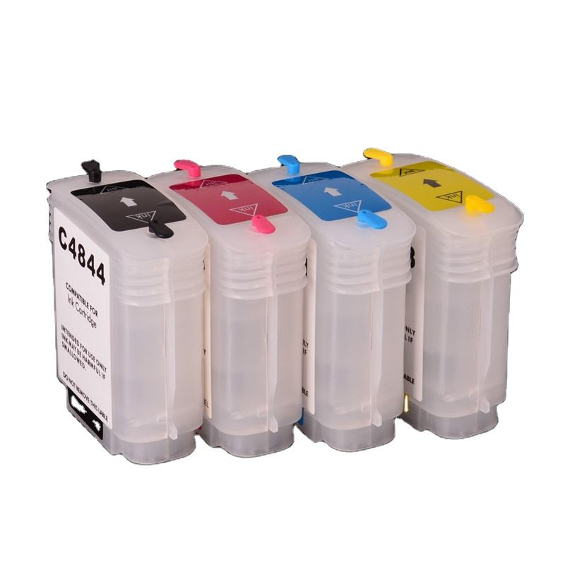 Ocinkjet 69ML/PC 10 82 Empty Refillable Ink Cartridge With Chip For HP 500 800 Printer