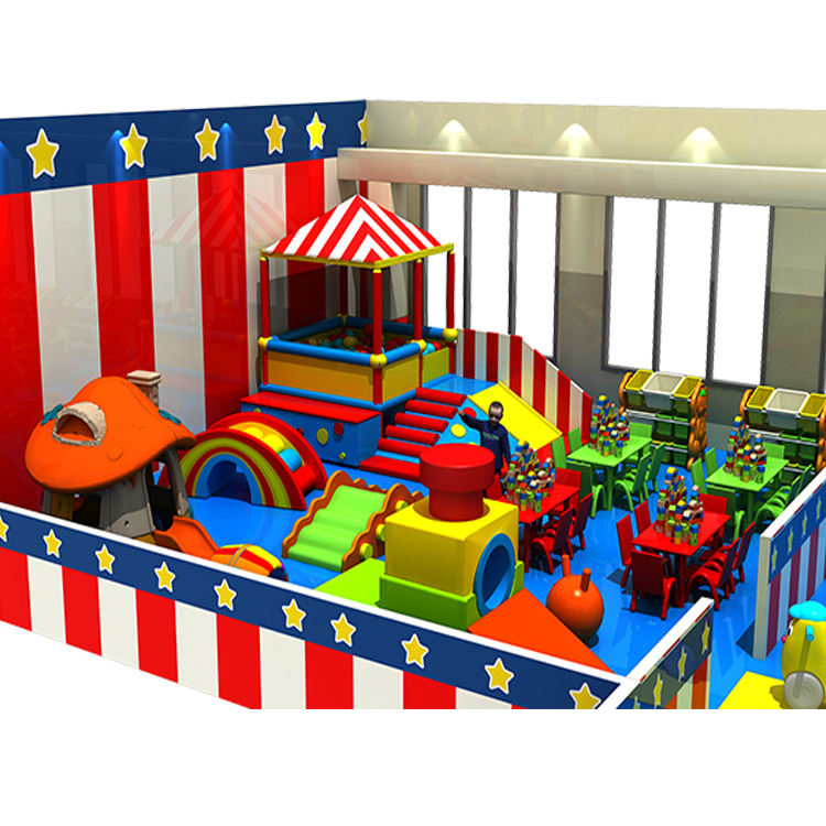 The newest custom colorful kids soft ball pool indoor play ground equipment soft play