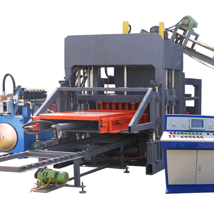 auto concrete cement pavement block making machine