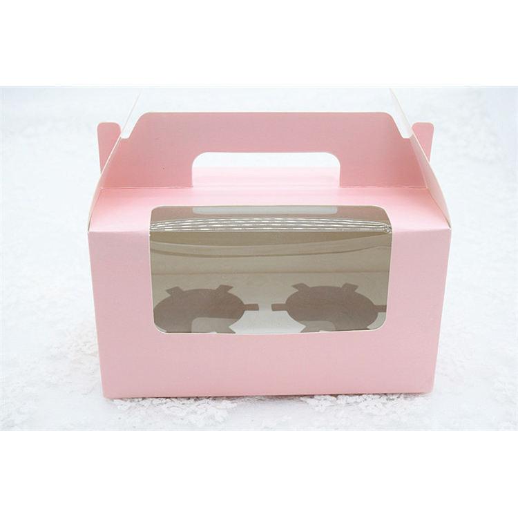 Globale Anpassung Handgemachte Papier Verpackung, Geschenk Karton Geburtstag Kuchen Verpackung Box