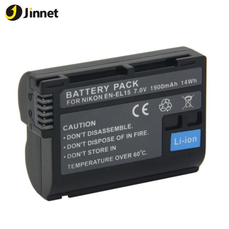 Accessori della macchina fotografica di ENEL15 sostituzione della batteria per nik su D800E D7000 D600 serie