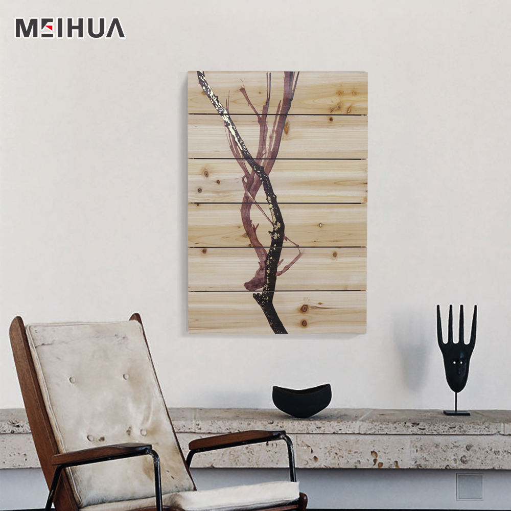 Clásica vida simple de madera arte de pared de madera para la venta en línea
