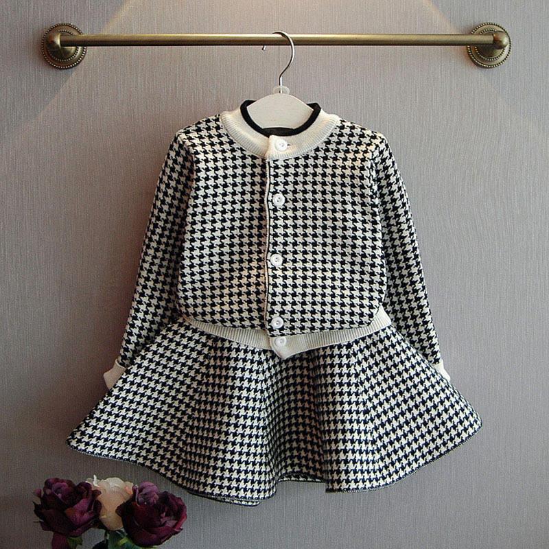 детская одежда для девочек с свитер и юбка комплект мягкие трикотажные комплекты одежды для девочек с героями мультфильма