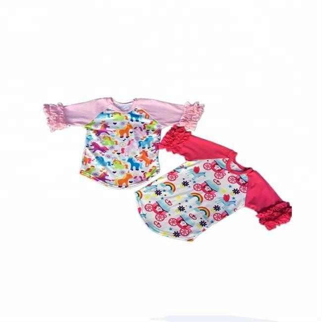одеждарубашки с коротким рукавом для девочекфутболки с рукавами реглан с рисунком для маленьких девочек