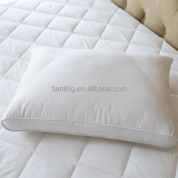 Удобная пуховая подушка с гусиным наполнителем